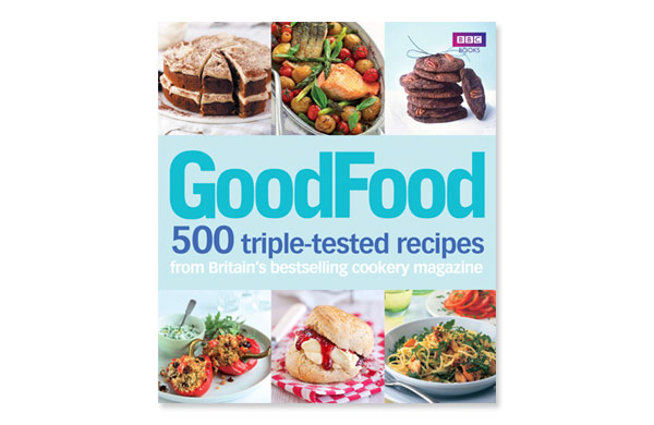 Cookery book design bbc good food 1 annette peppis cookery book design front cover to good food 500 triple tested recipes forumfinder