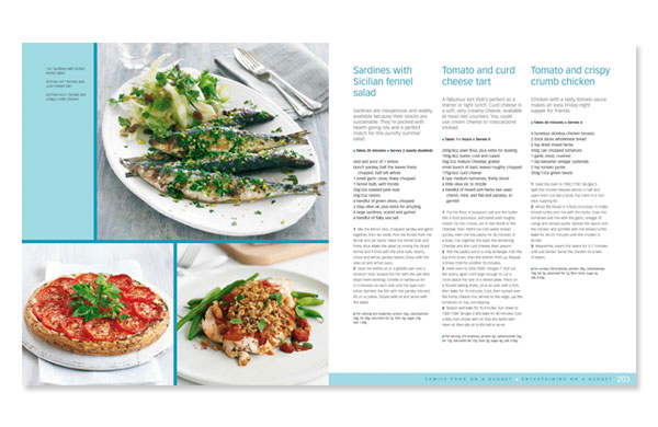 Cookery book design bbc good food 3 annette peppis cookery book design spread from bbc good food 500 triple tested recipes forumfinder Choice Image