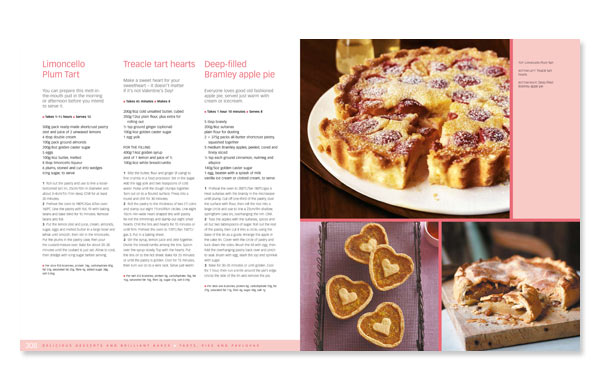 Cookery book design bbc good food 5 annette peppis cookery book design spread from bbc good food 500 triple tested recipes forumfinder Gallery