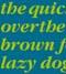 thumbnail image of an italic font