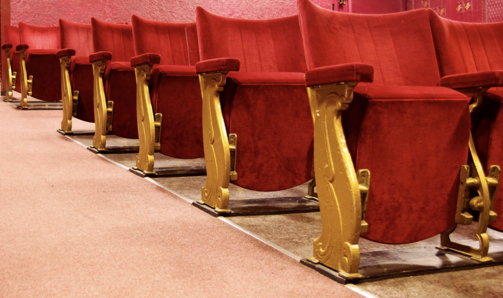 Curzon Cinema Clevedon seating © Eilidh B at Flickr