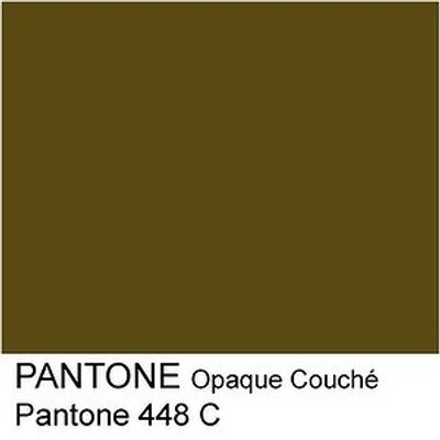 Pantone 448 is the ugliest colour