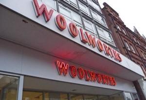 Woolworths fascia