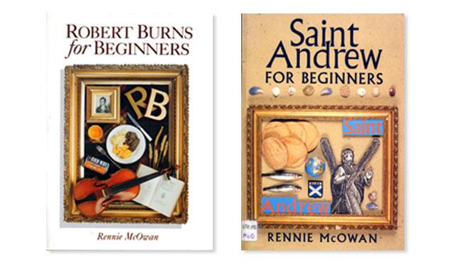 The original cover designs for Rowan Tree Publishing
