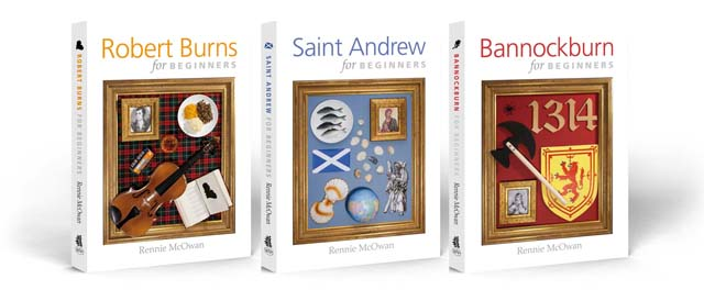 The rebranded Scottish trilogy cover designs