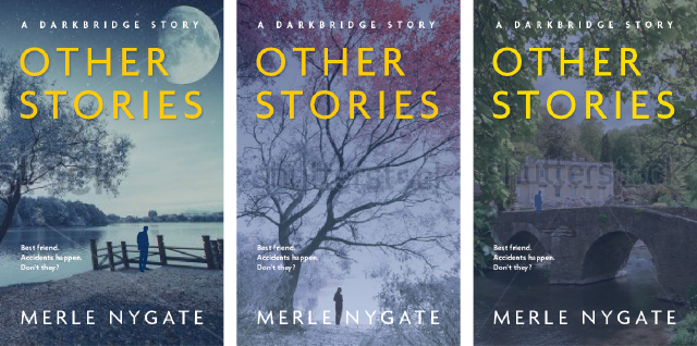 Revised concepts for Darkbridge cover design series
