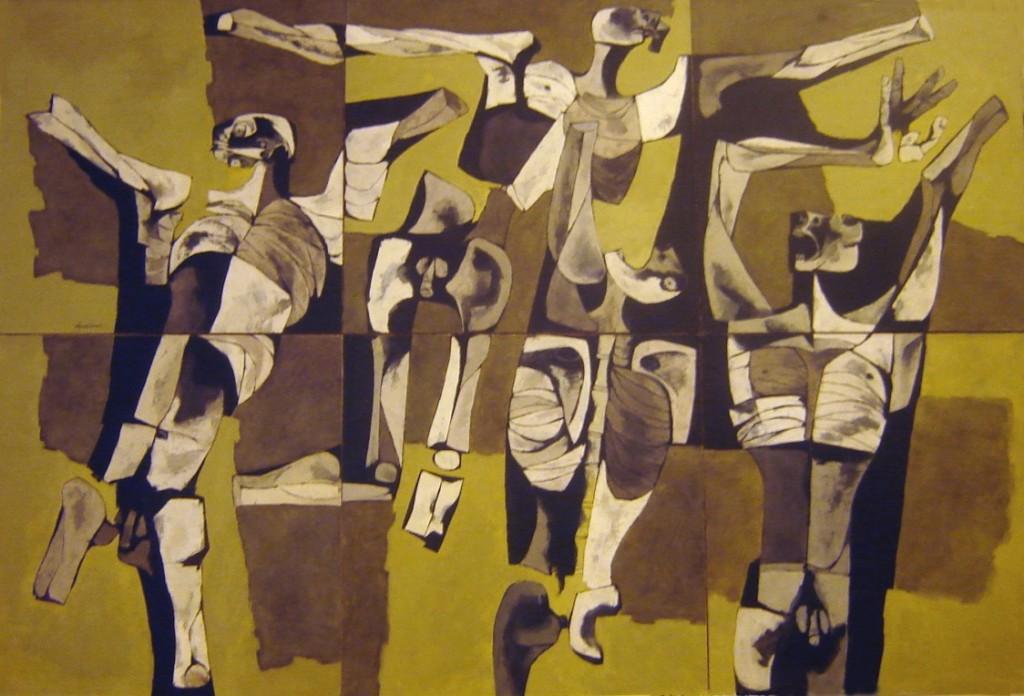 Los Mutilados by Guayasamin