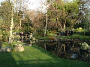 The Kyoto Japanese Gardens in Holland Park