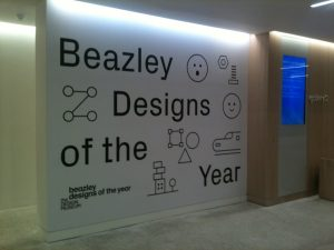 The entrance to the Beazley exhibition