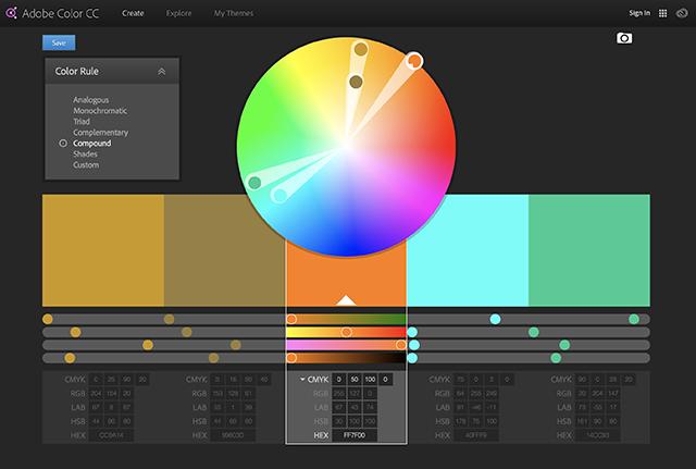 Compound colours
