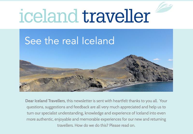 Tour Operator newsletter design