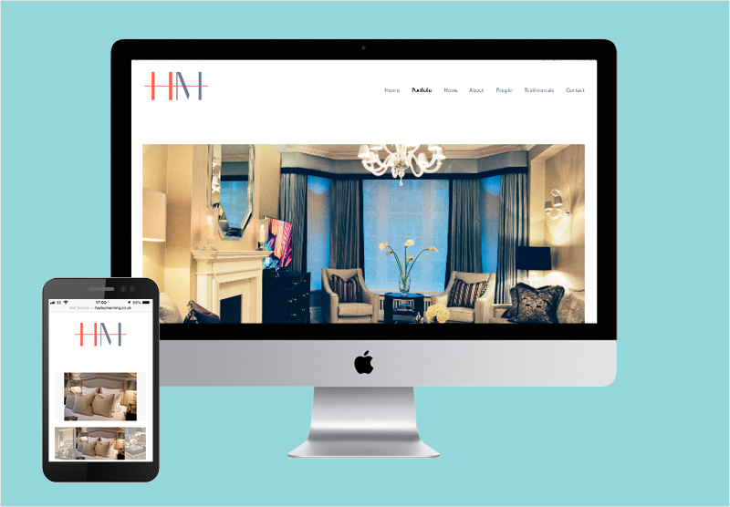 HM Home Web Design