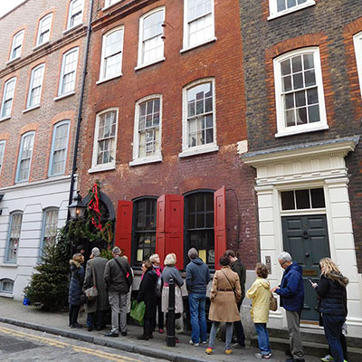 Dennis Severs house in Spitalfields, London
