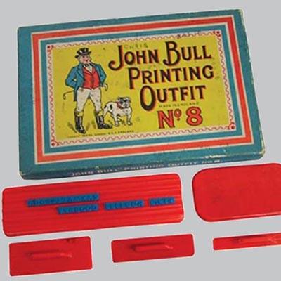 John Bull printing set