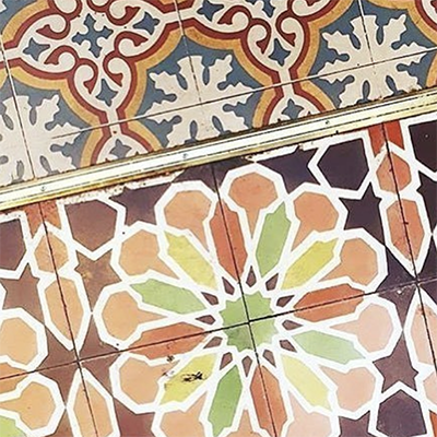 decorative tiling