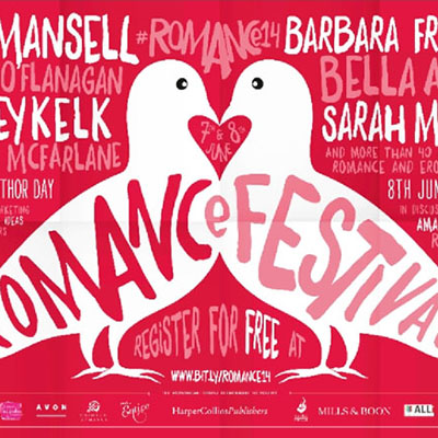 Detail from a Romance Festival poster
