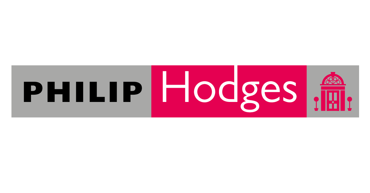 Logo design for Philip Hodges estate agents.