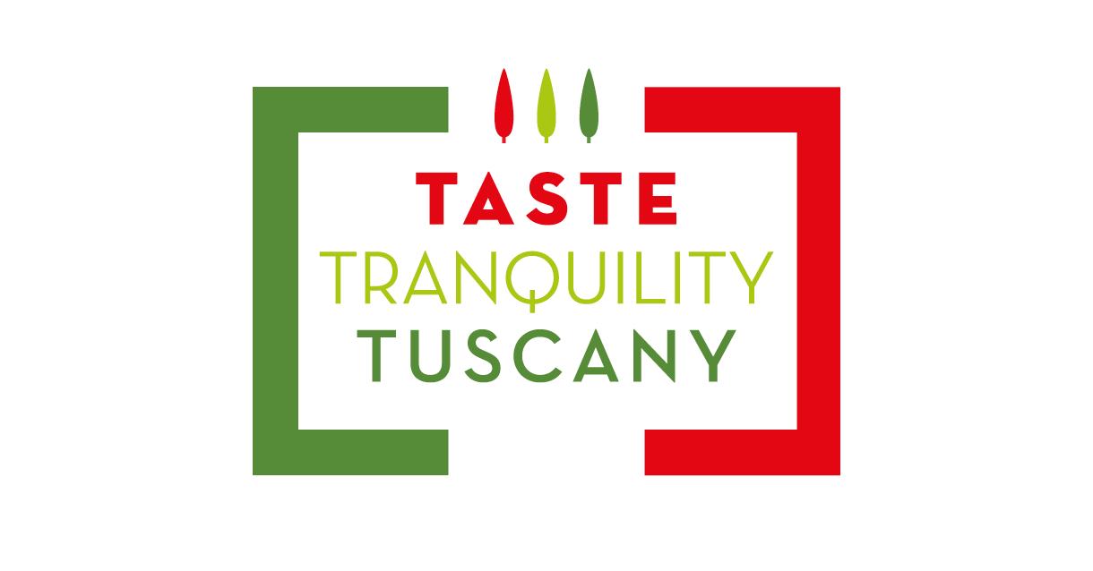 Logo design for Taste Tranquility Tuscany.
