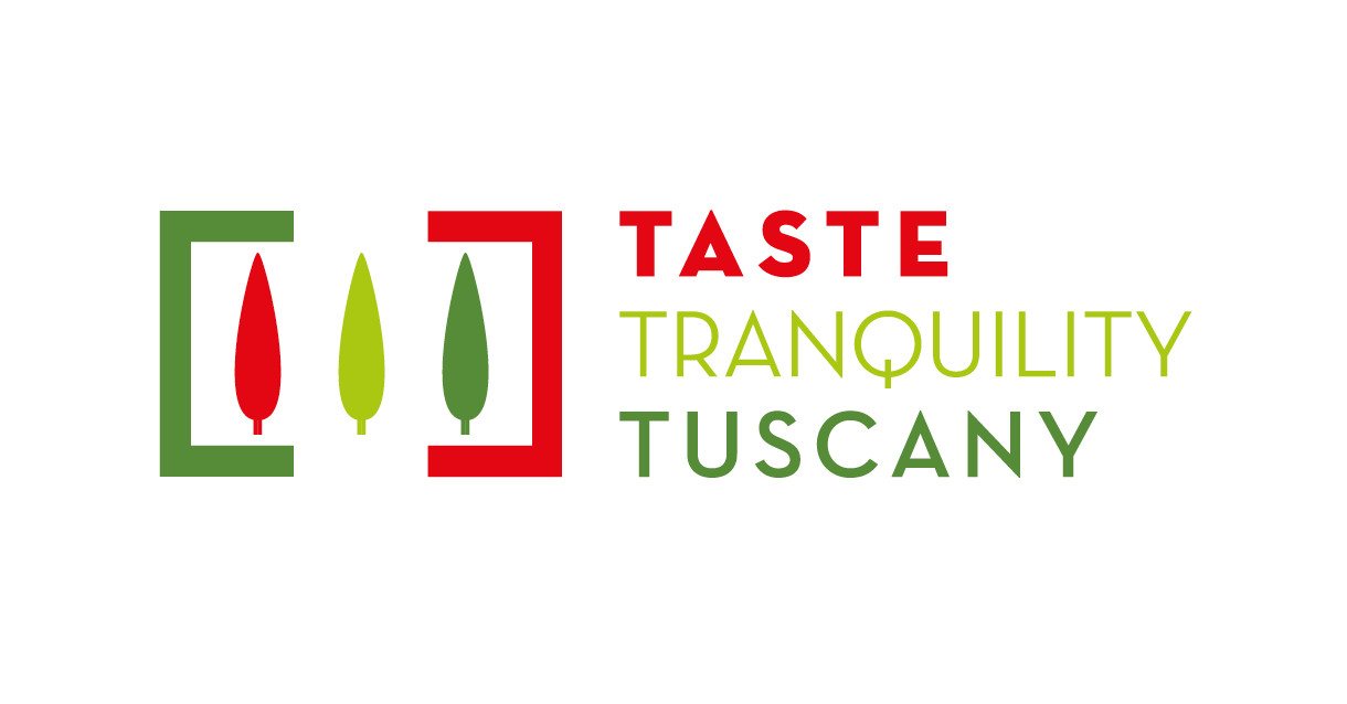 Logo design for Taste Tranquility Tuscany (alternative version).