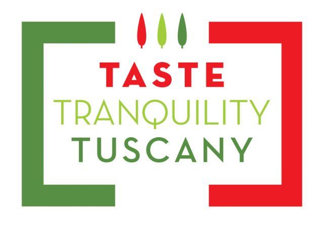 Taste Tranquility Tuscany logo design