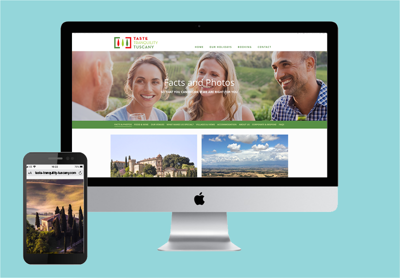 Website design and build for Arbrook Travel