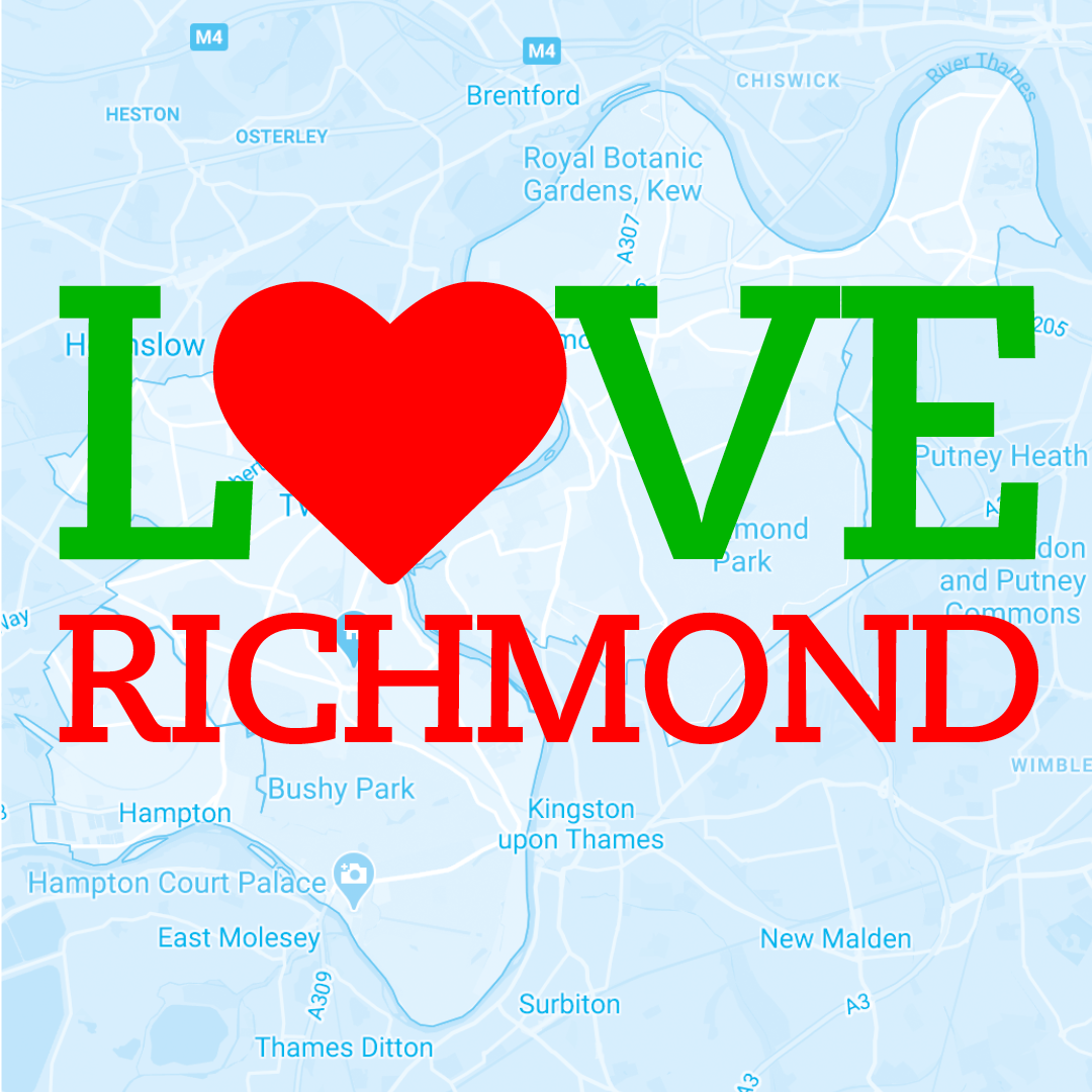 Love Richmond branded Instagram post