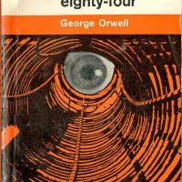 1984 paperback book cover (eye design)
