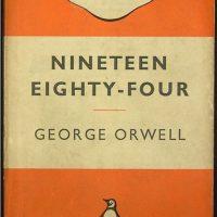 1984 paperback book cover (original design)